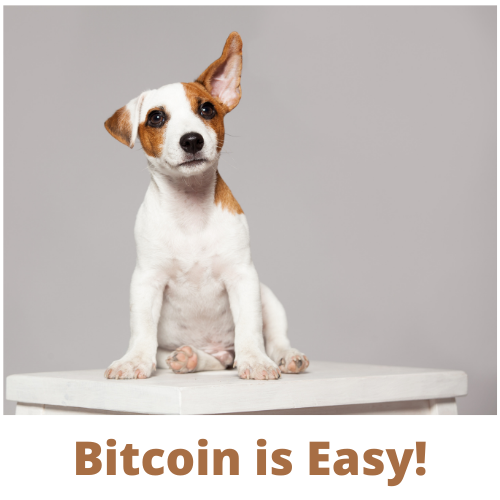 Want to know a secret? Bitcoin is Easy!